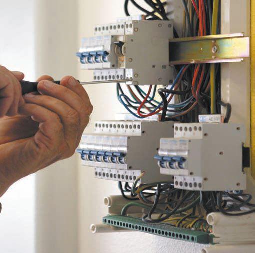 Установка автомата в электрощитке своими руками